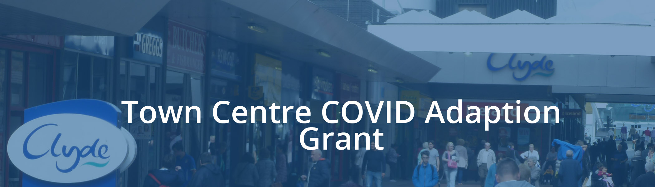 Clydebank Town Centre COVID Adaption Grant