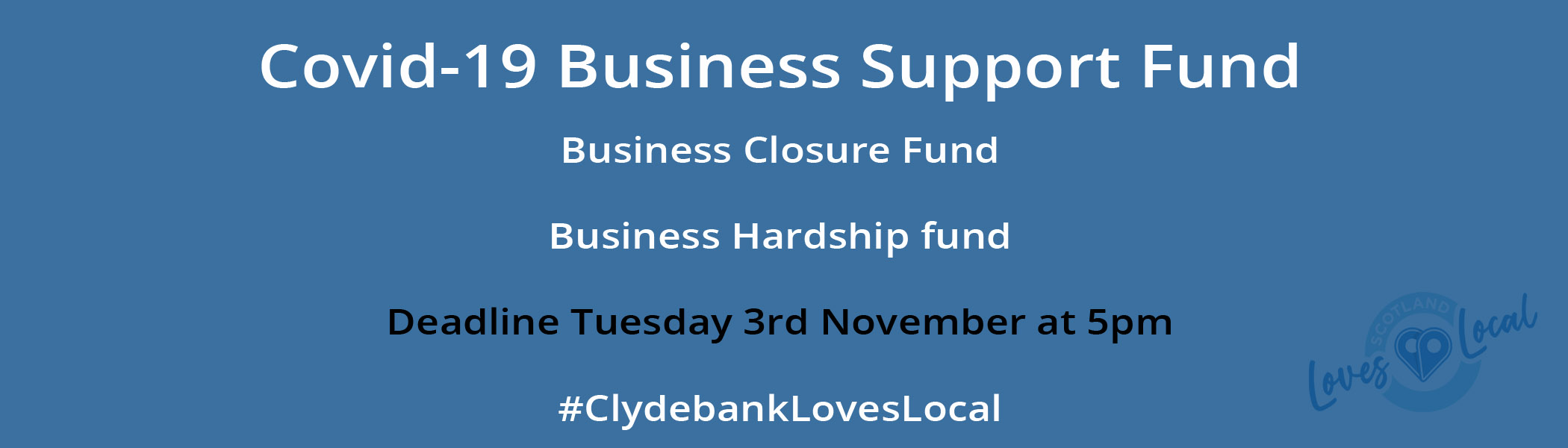 Clydebank Covid19 support fund