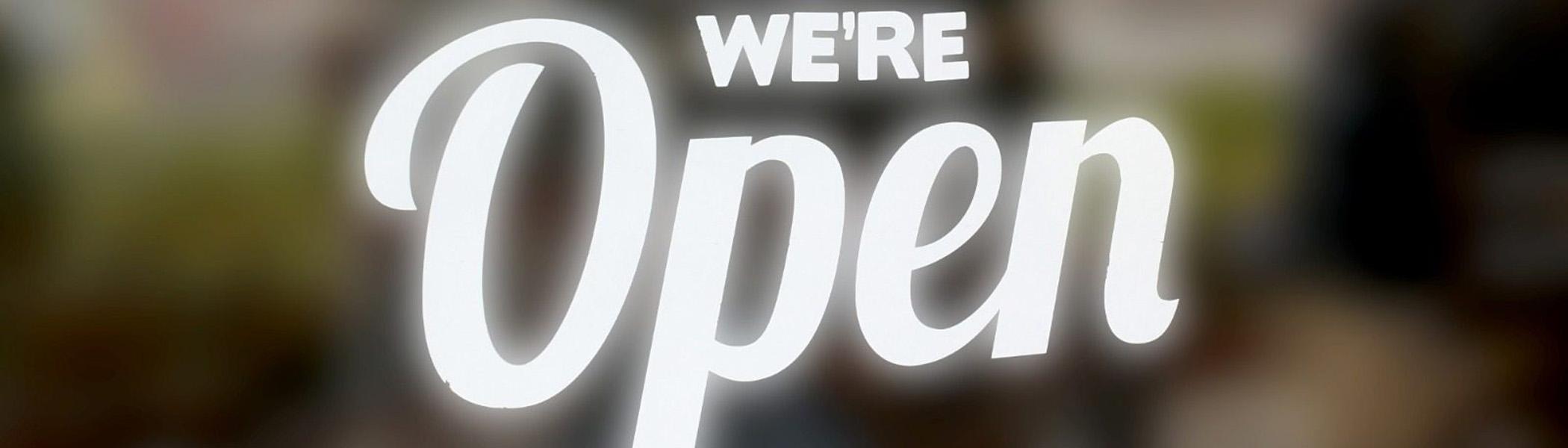 Clydebank We' re Open