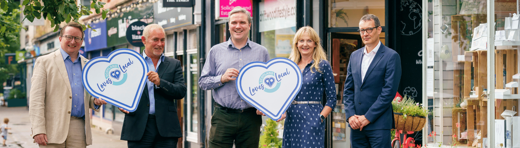 Scotland Loves Local launched in Dunbartonshire